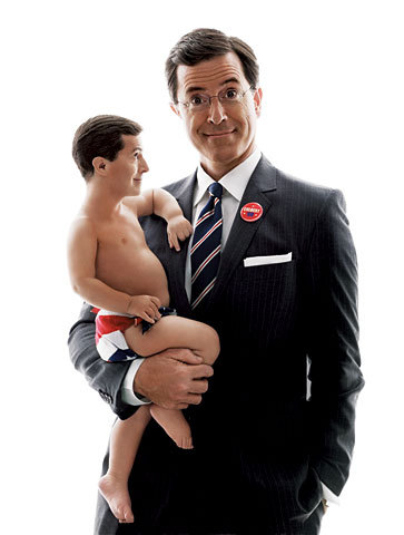 Stephen Colbert দেওয়ালপত্র called Papa Colbert