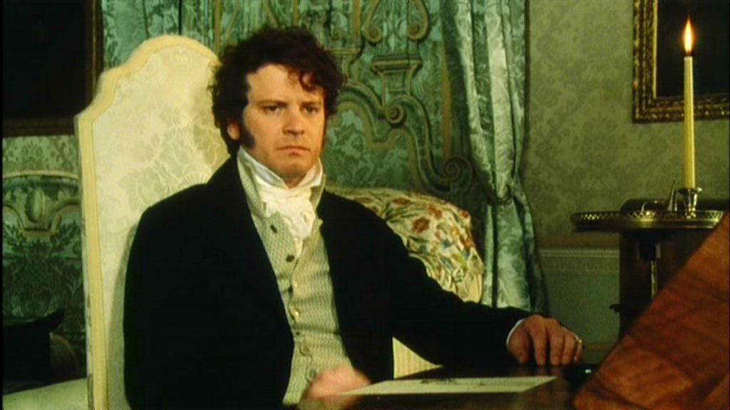 Colin Firth as Mr Darc...
