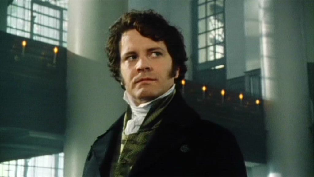 Colin Firth as Mr Darc...