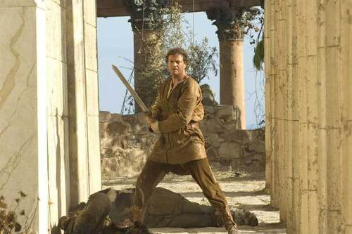 Colin Firth karatasi la kupamba ukuta entitled Colin in The Last Legion