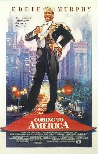 80s Films 바탕화면 titled Coming to America (1988)