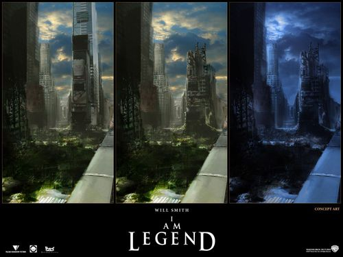 Concept Art - i-am-legend Wallpaper