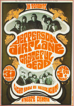 The 60's wallpaper called Concert Poster