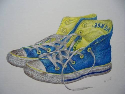 Converse drawing