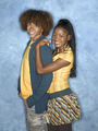 Corbin Bleu and Keke Palmer - jump-in photo