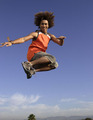 Corbin Blue - jump-in photo