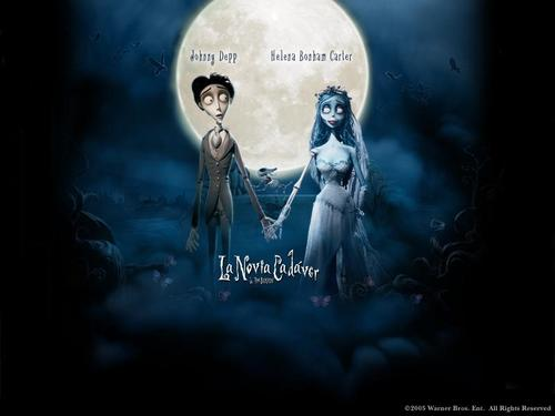Tim burton wallpaper entitled Corpse Bride