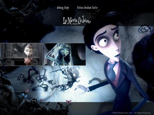 Tim burton wolpeyper entitled Corpse Bride