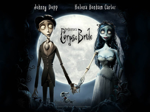 Tim برٹن پیپر وال called Corpse Bride