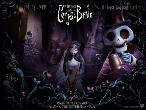 Тим Бёртон Обои entitled Corpse Bride
