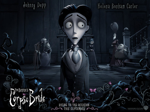 Tim برٹن پیپر وال entitled Corpse Bride