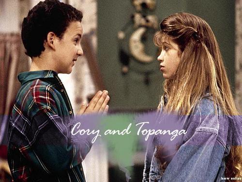 Cory & Topanga wallpaper titled Cory & Topanga