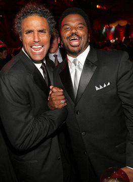 Craig Robinson and Rick Fox