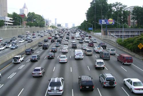 Crazy Atlanta traffic