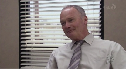 "Creed in ""The Office"""