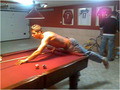Cristiano Plays Pool