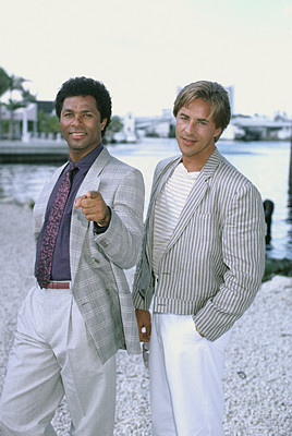Miami Vice wallpaper titled Crockett & Tubbs