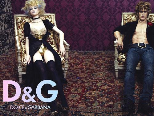D & G F/W 2005 Campaign Ad