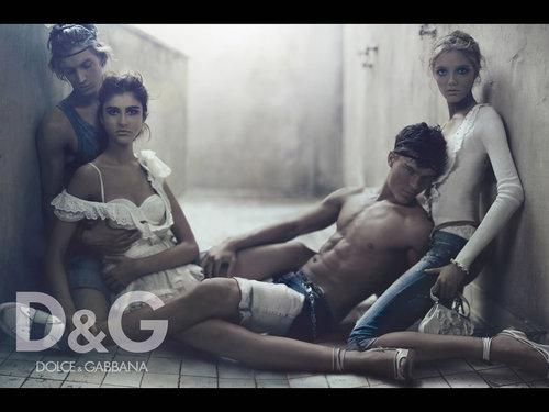 D & G S/S 2007 Campaign Ad