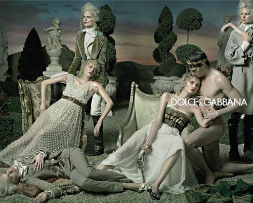 D & G F/W 2007 Campaign Ad