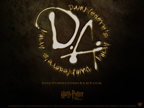 Dumbledore's Army wallpaper titled DA