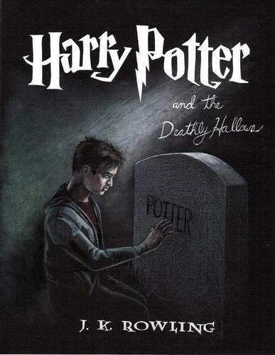 DH Fan Art - Book Cover - harry-potter-and-the-deathly-hallows Fan Art