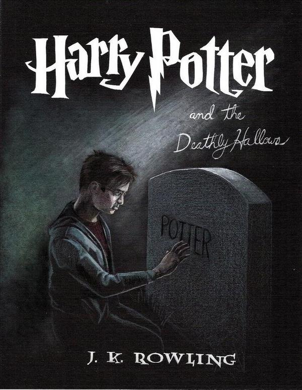 DH Fan Art - Book Cover - Harry Potter & the Deathly
