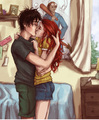 DH Something to Remember Me By - harry-and-ginny fan art