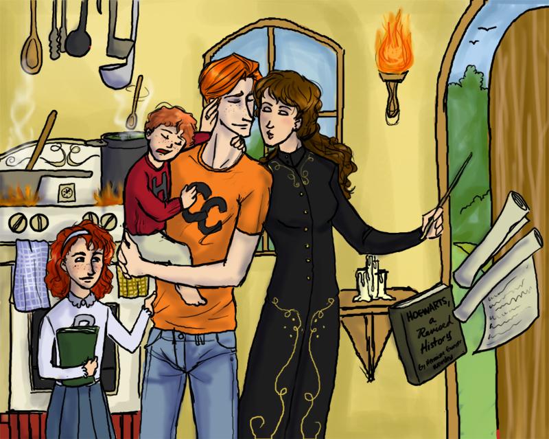 DH The Granger-Weasley Family