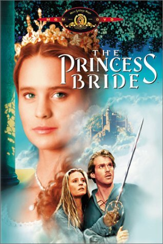 The Princess Bride fond d'écran titled DVD Cover