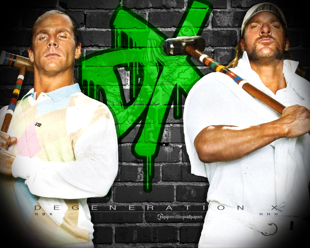 DX - Wrestling Wallpaper (704854) - Fanpop