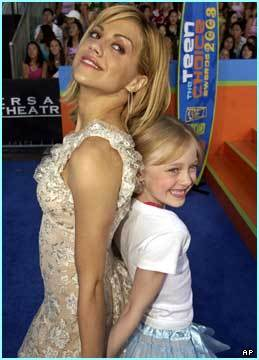 Dakota & Brittany Murphy - dakota-fanning Photo
