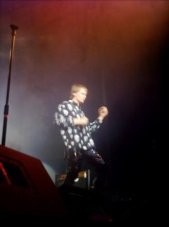 Dan with his Air Guitar!