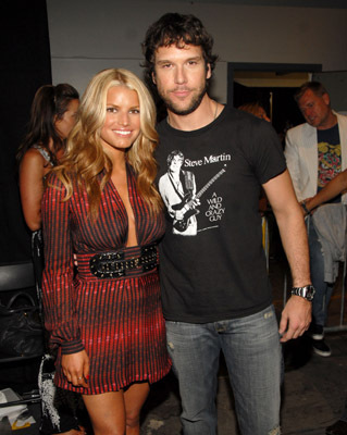 Dane Cook and Jessica Simpson