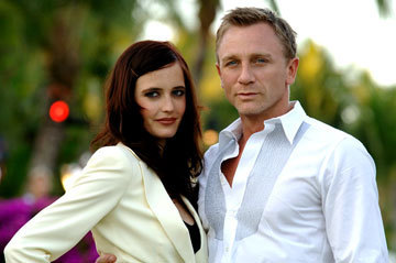 Daniel Craig Hintergrund called Daniel Craig, Eva Green