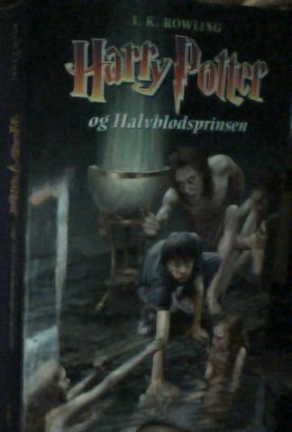 Danish Harry Potter book