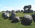 Danish stendysser (dolmen) - scandinavia photo