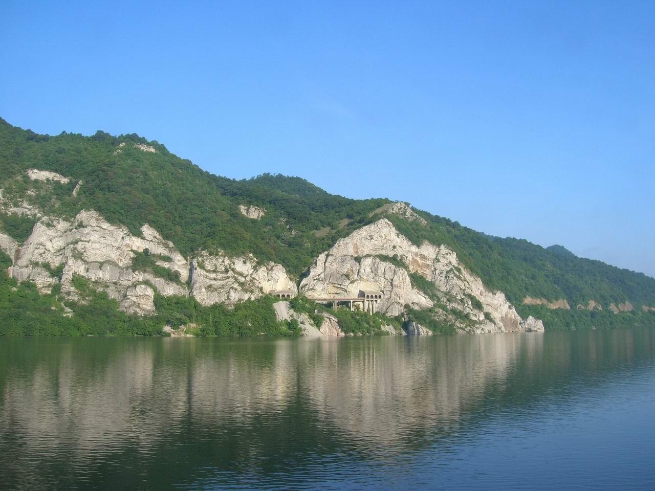 Romania danube river