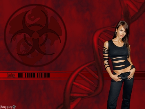 Jessica Alba wallpaper entitled Dark Angel