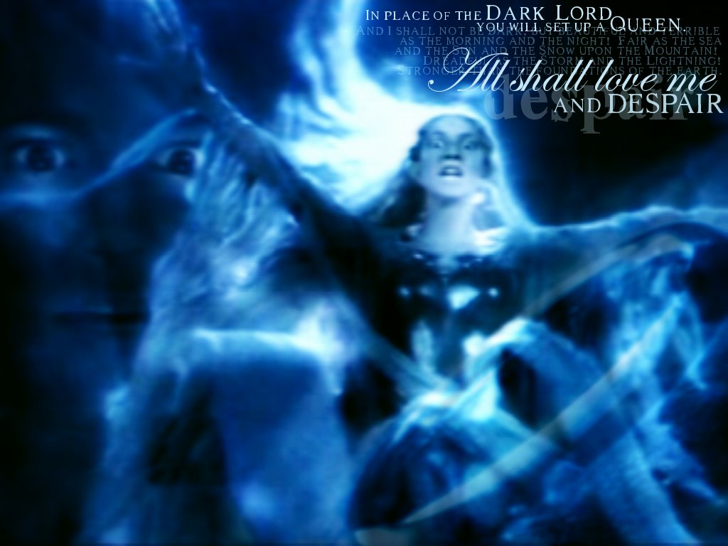 Dark Queen Lord Of The Rings Wallpaper 536555 Fanpop