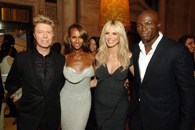 David, Iman, Heidi Klum & joint, joint d'étanchéité