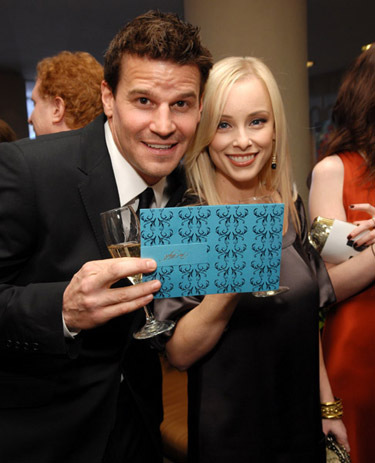 Bones wallpaper called David Boreanaz and wife Jamie