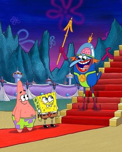 David Bowie & Sponge Bob