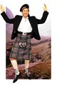 David Duchovny - kilts photo