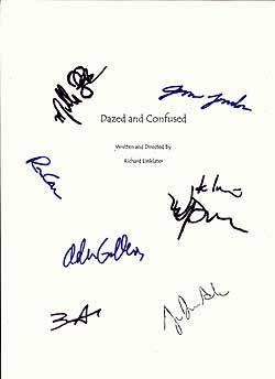 Dazed and Confused Hintergrund called Signed D&C Script