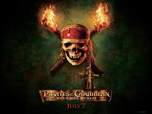 Pirates of the Caribbean wallpaper called Dead Man's Chest