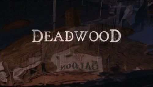 Deadwood wallpaper entitled Deadwood title image