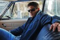 Dean In His Car