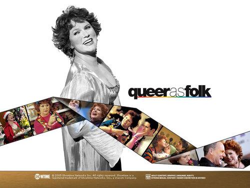 Queer As Folk wallpaper titled Debbie