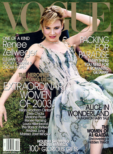 Vogue wallpaper called December 2003: Renee Zellweger